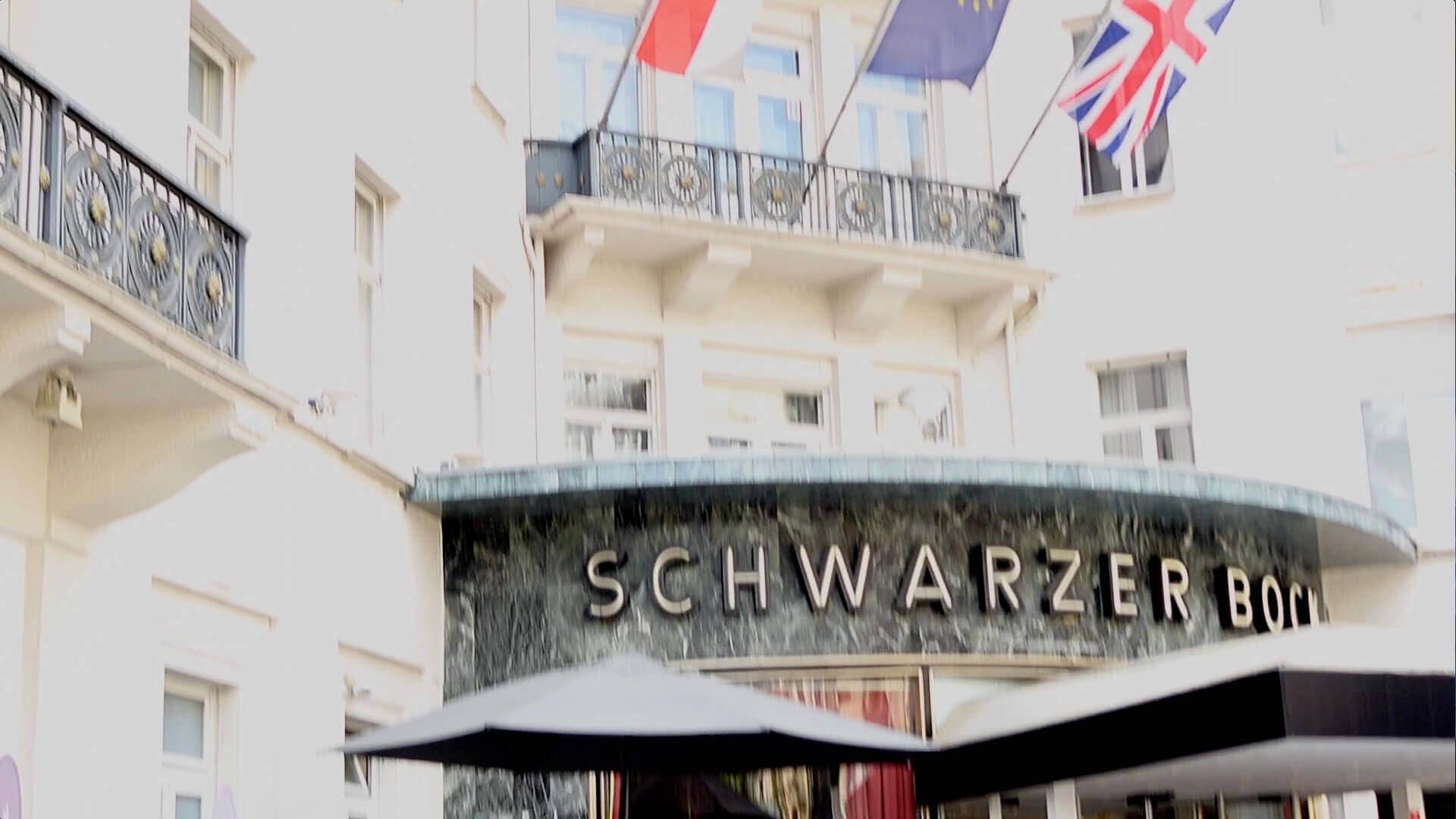 Eingangsbereich des Schwarzen Bock in Wiesbaden
